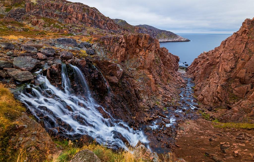 экскурсия в териберку водопад