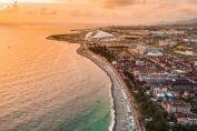 Пляжи Имеретинской бухты в адлере