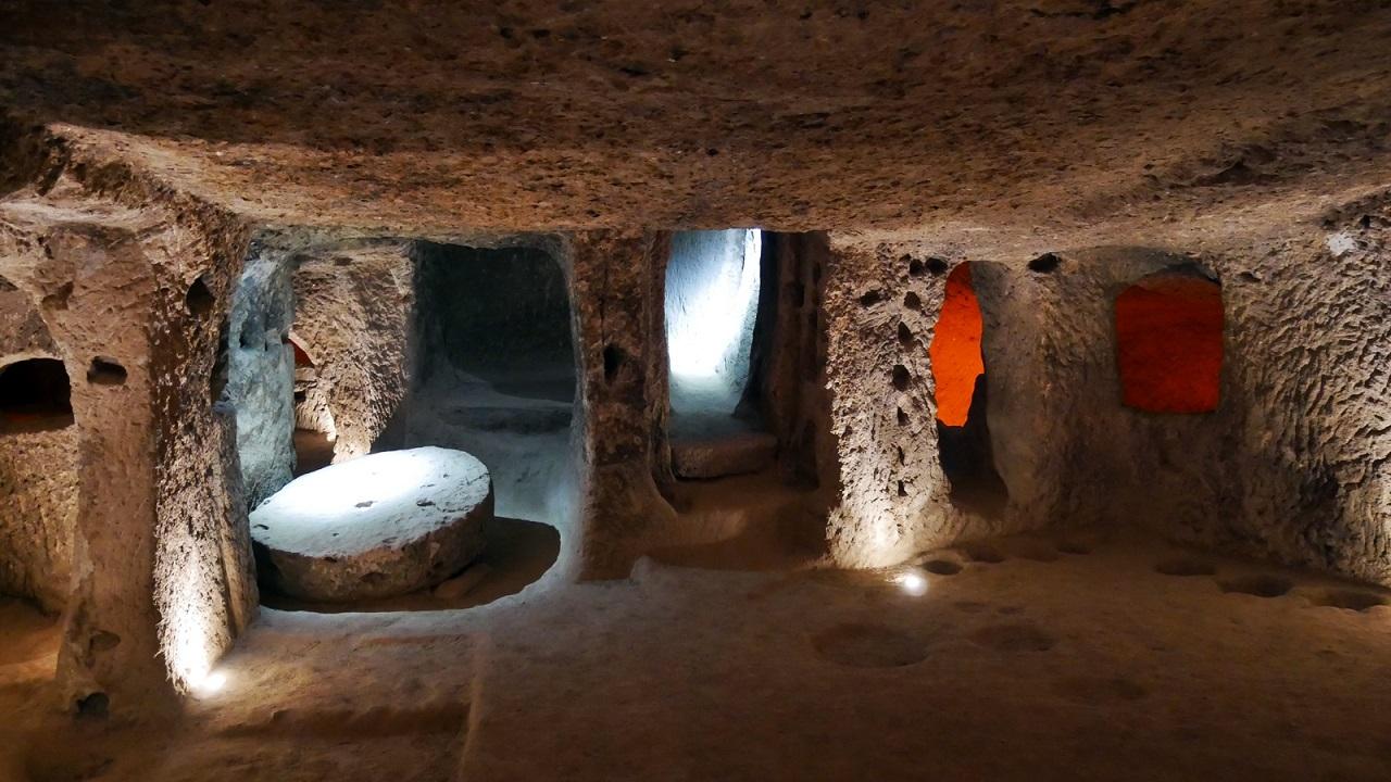 зеленый тур по каппадокии - Подземный город Деринкую
