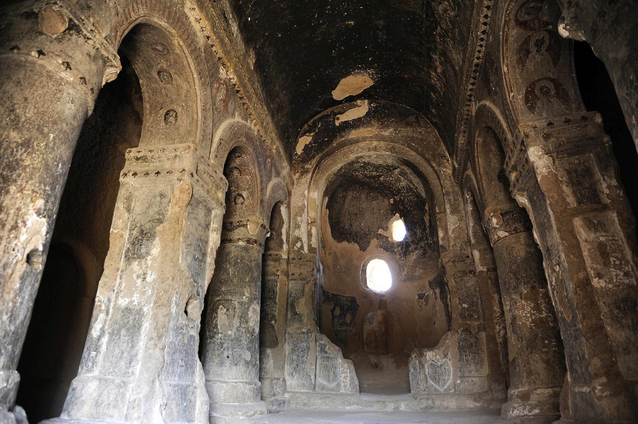 зеленый тур по каппадокии - Скальный монастырь в Селиме