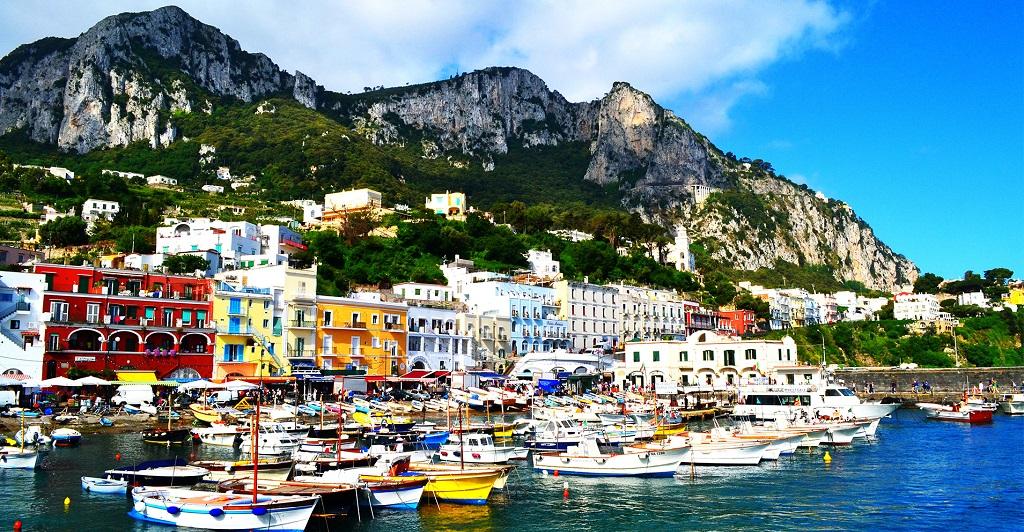 Экскурсии на остров Капри из Неаполя на русском языке