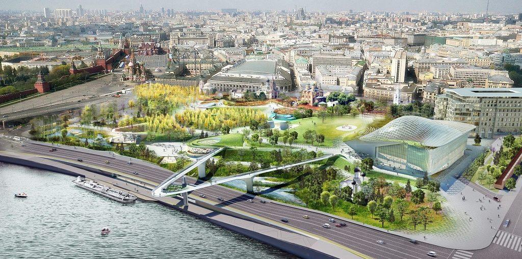 Экскурсии в парк Зарядье в Москве цена, отзывы