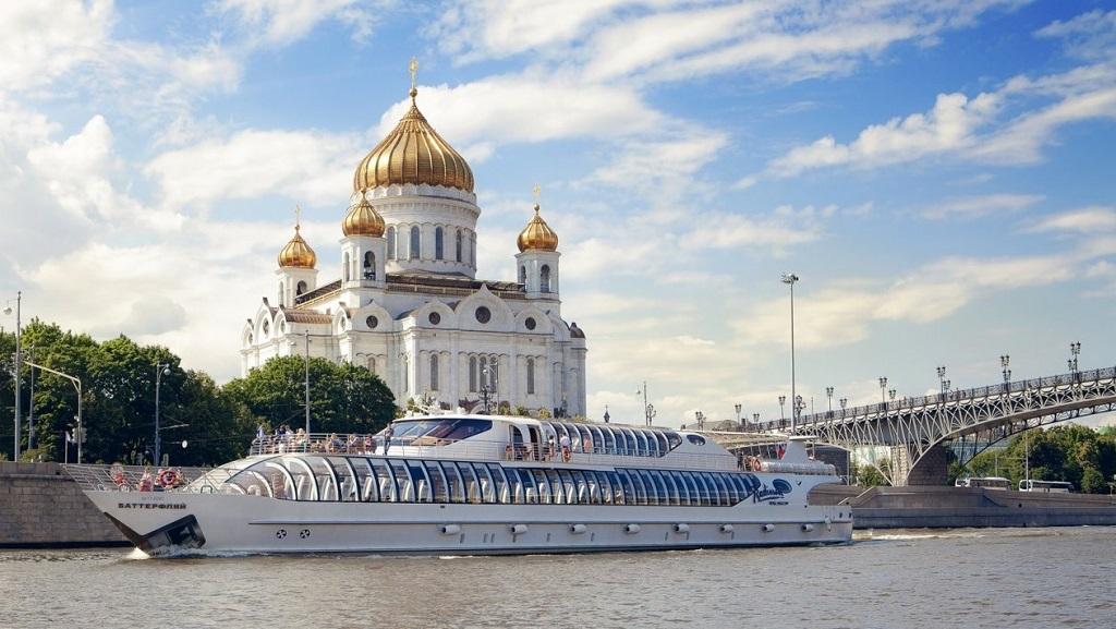 Экскурсия на теплоходе Рэдиссон по Москве-реке