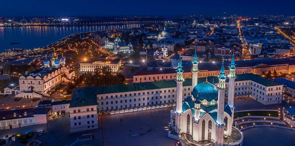 Экскурсия вечерняя Казань цены, отзывы огни Казани ночная Казань