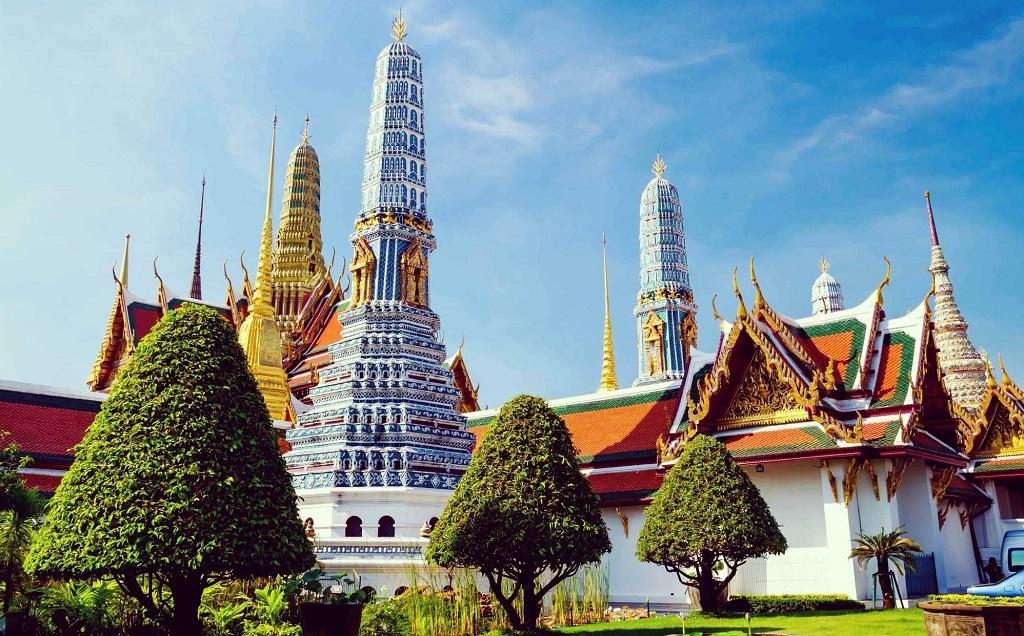 Храм Изумрудного Будды (Ват Пхра Кео) Temple of the Emerald Buddha (Wat Phra Kaew)