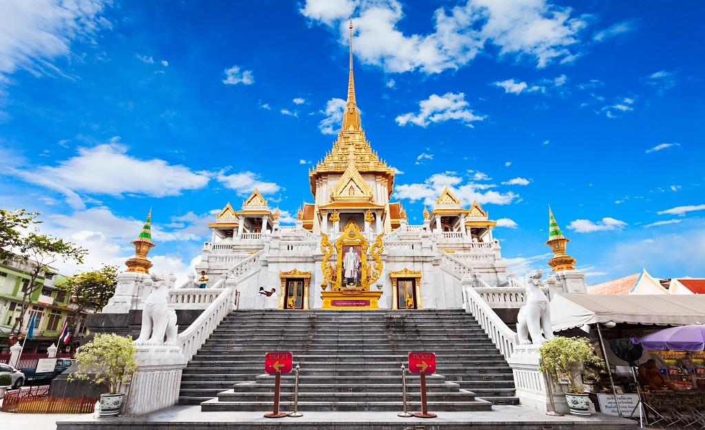 Храм Золотого Будды (Ват Траймит) Temple of the Golden Buddha (Wat Traimit)