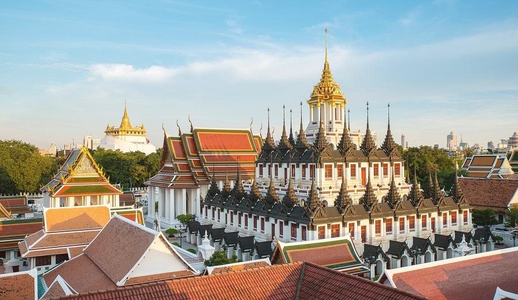 Храмы Бангкока Храм Ват Ратчанадда Wat Ratchanatdaram