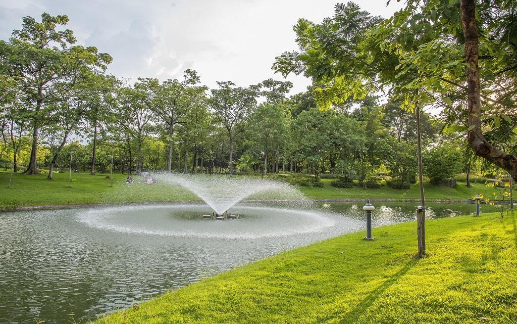 Парк королевы Сирикит