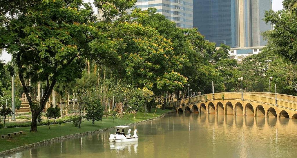 Парки Бангкока Парк Чатучак