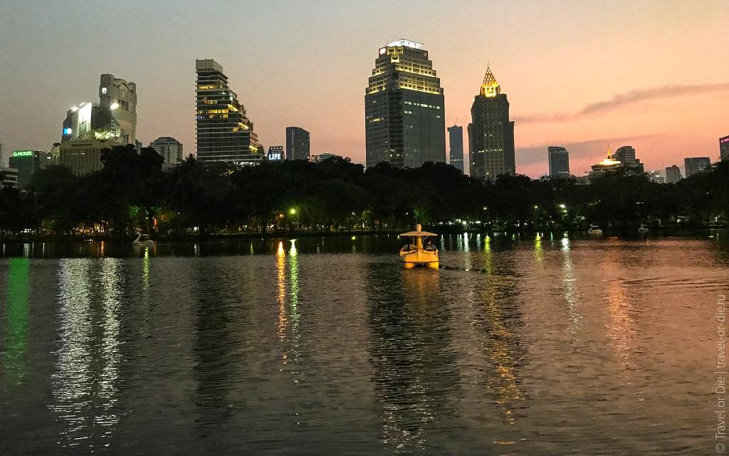 Парки Бангкока Парк Люмпини