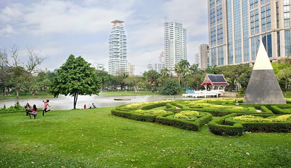 Парки в Бангкоке Бенджасири парк