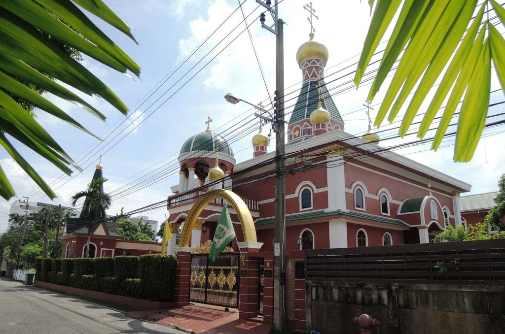 Русский православный храм в Бангкоке Orthodox Christian Church