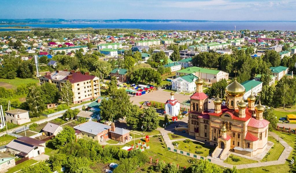 экскурсия в булгар из казани Село Алексеевское собор Воскресения Господня