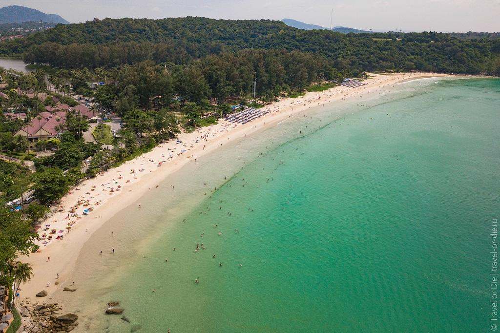 Лучшие пляжи Пхукета най-харн