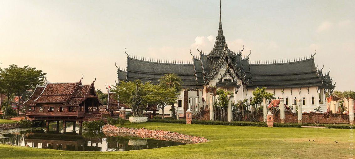 Муанг Боран, парк Древний Сиам, Бангкок как добраться, билеты, отзывы