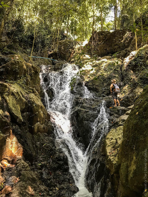 главные достопримечательности пхукета Водопад Тонсай