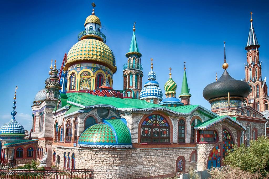 Экскурсии в Свияжск, Раифский монастырь и Храм всех религий