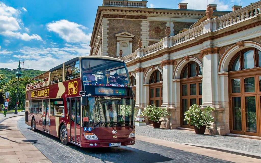 Обзорная экскурсия по Будапешту на автобусе
