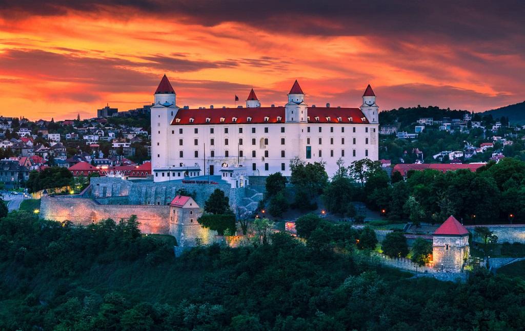 экскурсия будапешт братислава Братиславский Град
