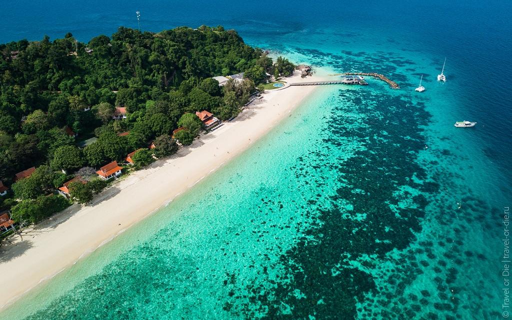 острова рядом с пхукетом Остров Майтон