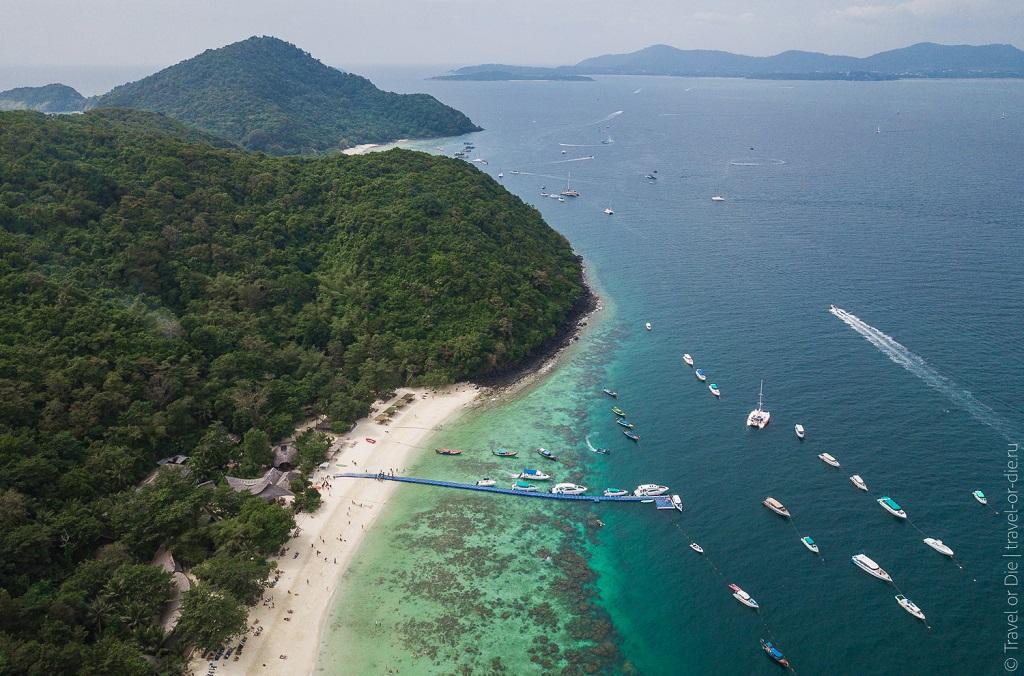 острова с пхукетом Остров Корал