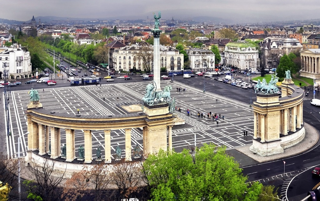 Достопримечательности Будапешта - Площадь Героев в Будапеште