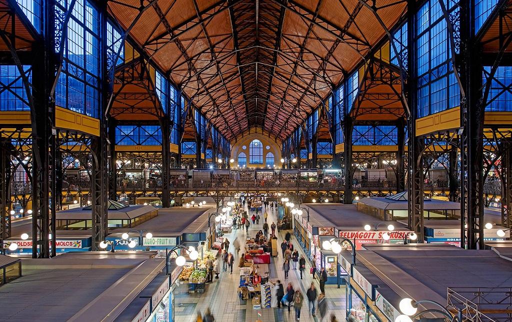 Достопримечательности Будапешта - Центральный рынок Будапешта