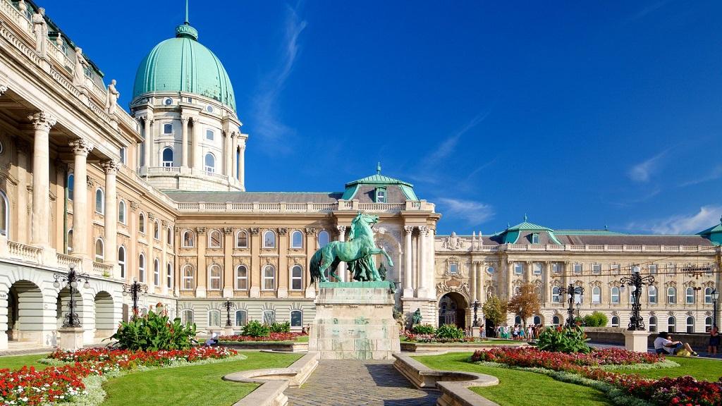 Достопримечательности Будапешта - Венгерская национальная галерея