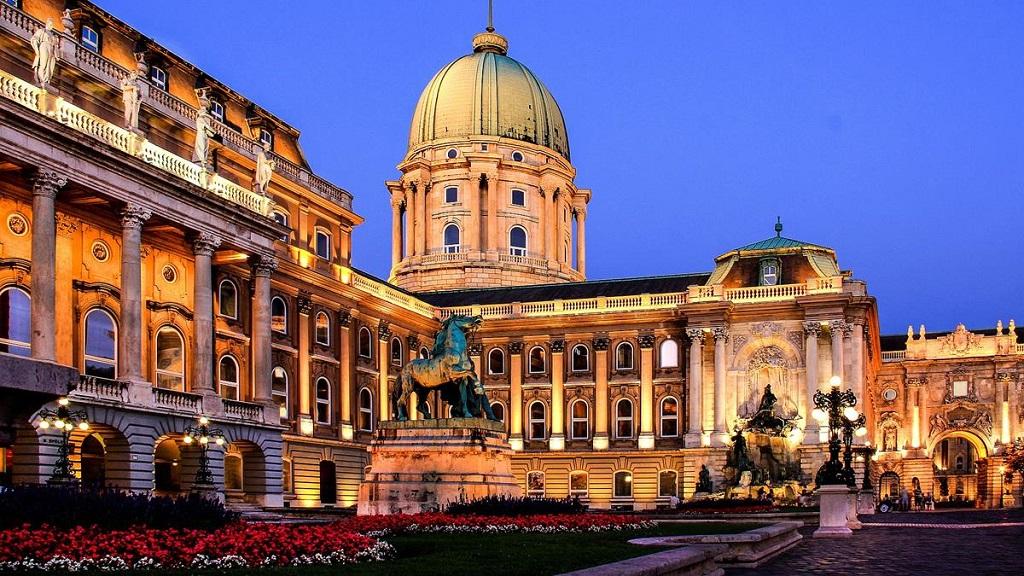Достопримечательности Будапешта - Замок Буда