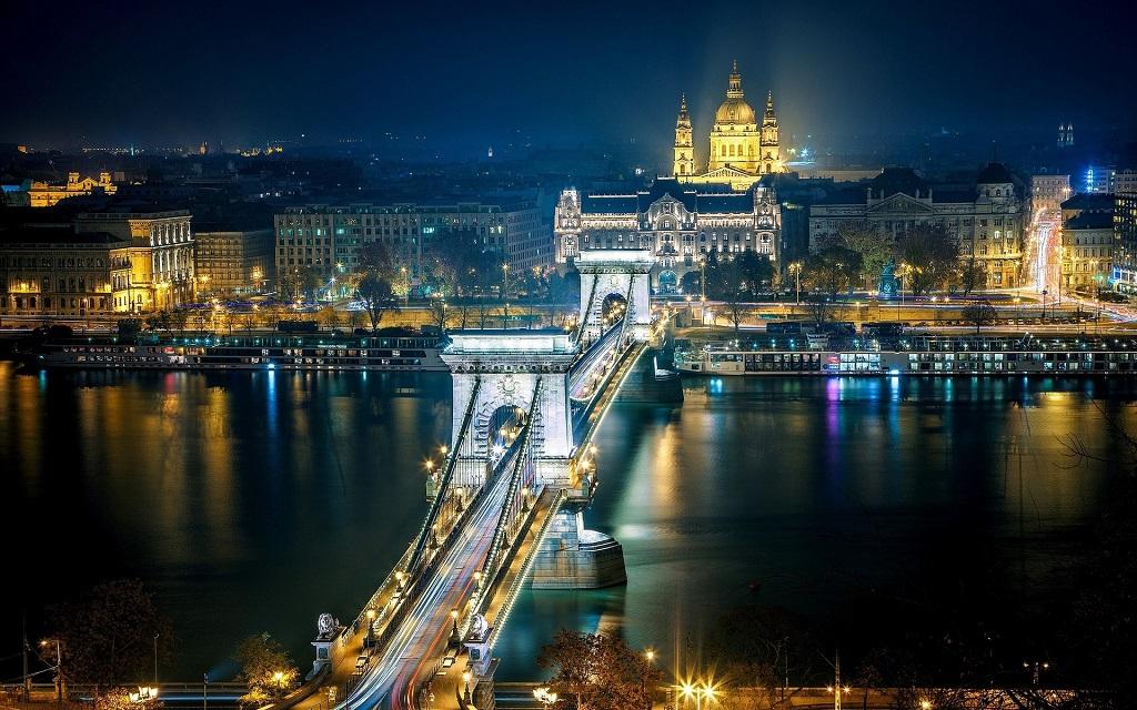 Достопримечательности Будапешта на русском языке - Цепной мост Сечени