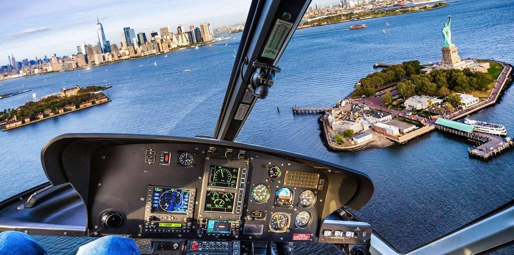 Полет над Нью-Йорком на вертолете цена, отзывы