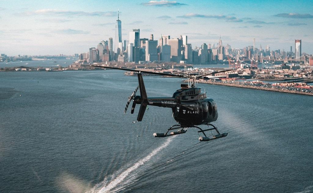 Река Гудзон прогулка на вертолете