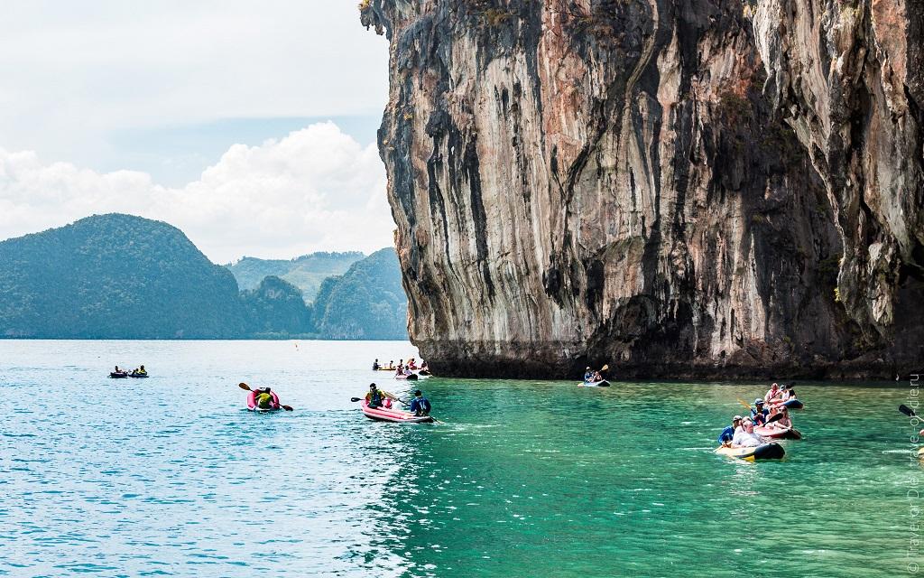 острова рядом с пхукетом - остров хонг