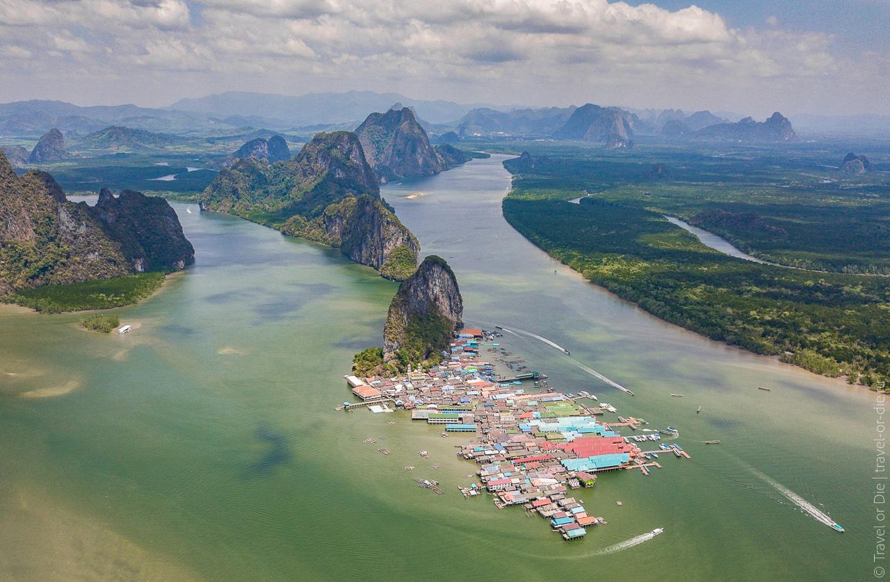 Морские цыгане Пхукета и Тайланда - деревня и остров морских цыган