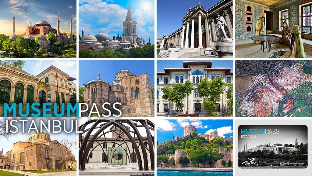 Музейная карта Стамбула Museum Pass Istanbul