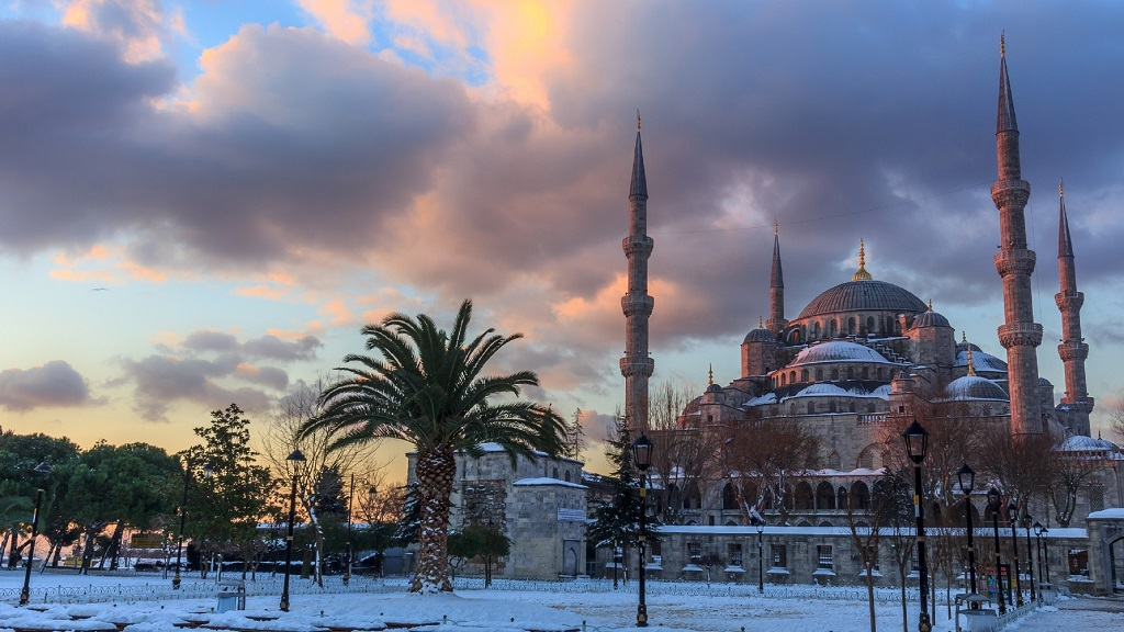 айя софия голубая мечеть