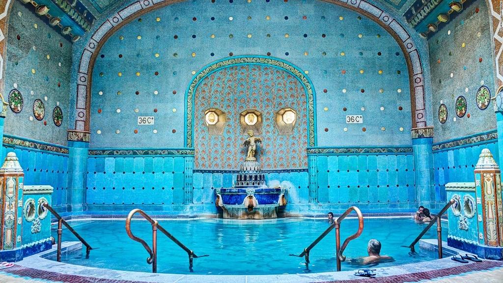 купальни будапешта Купальни Геллерт Gellért Thermal Bath