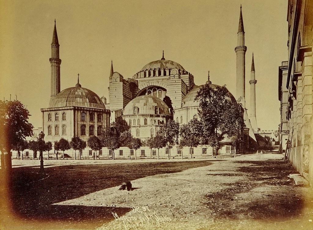 собор святой софии в стамбуле на старых фото