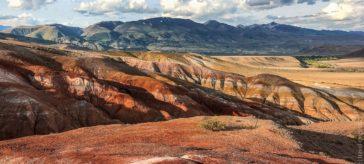 Марс на Горном Алтае Кызыл-Чин