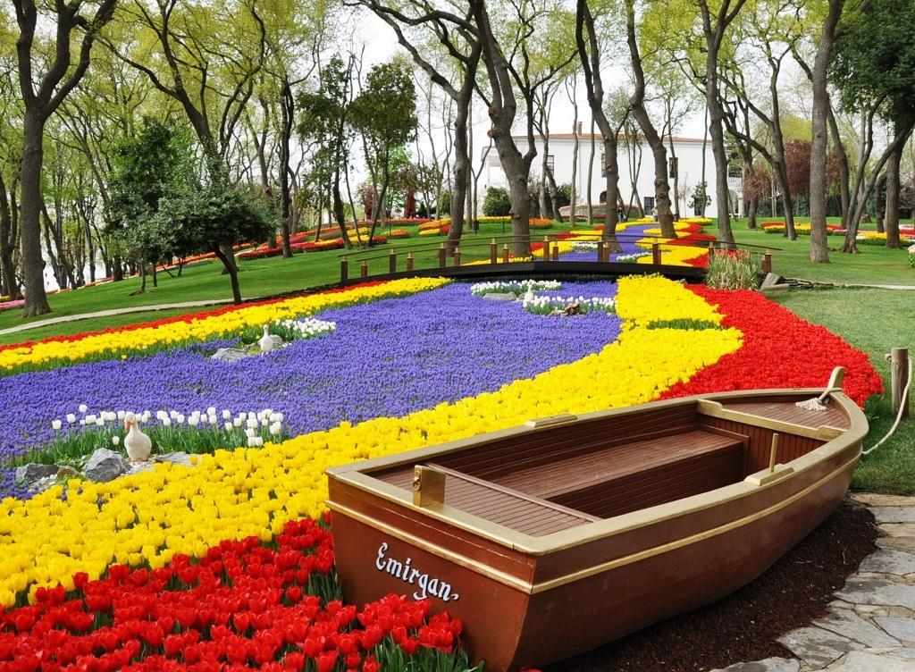 Парк Эмирган Emirgan Park