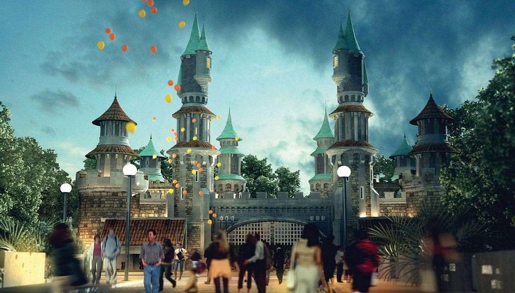 Парк аттракционов Исфанбул (Виаленд)  Isfanbul (Vialand) Theme Park