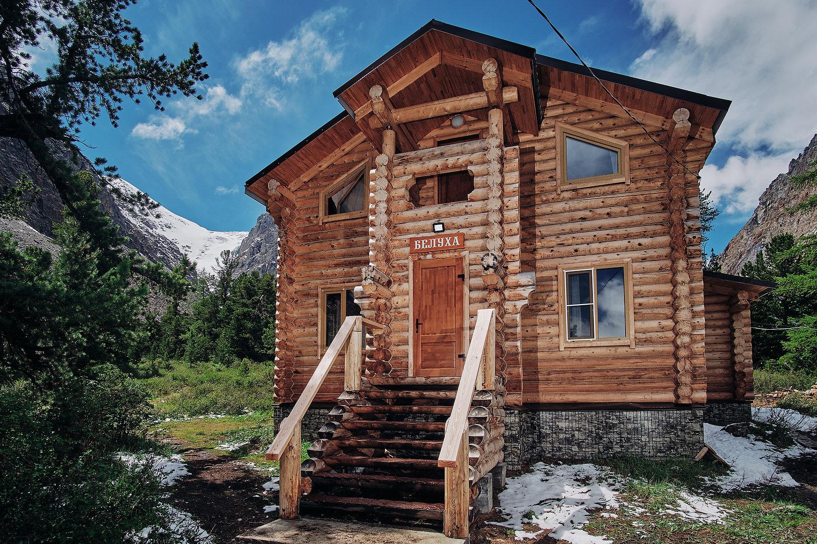 горный центр алтай актру дом белуха снаружи