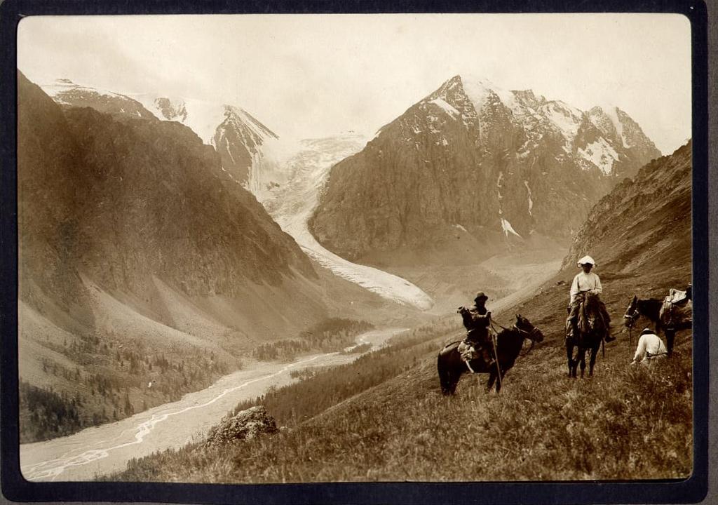 ледник актру старые фото 1