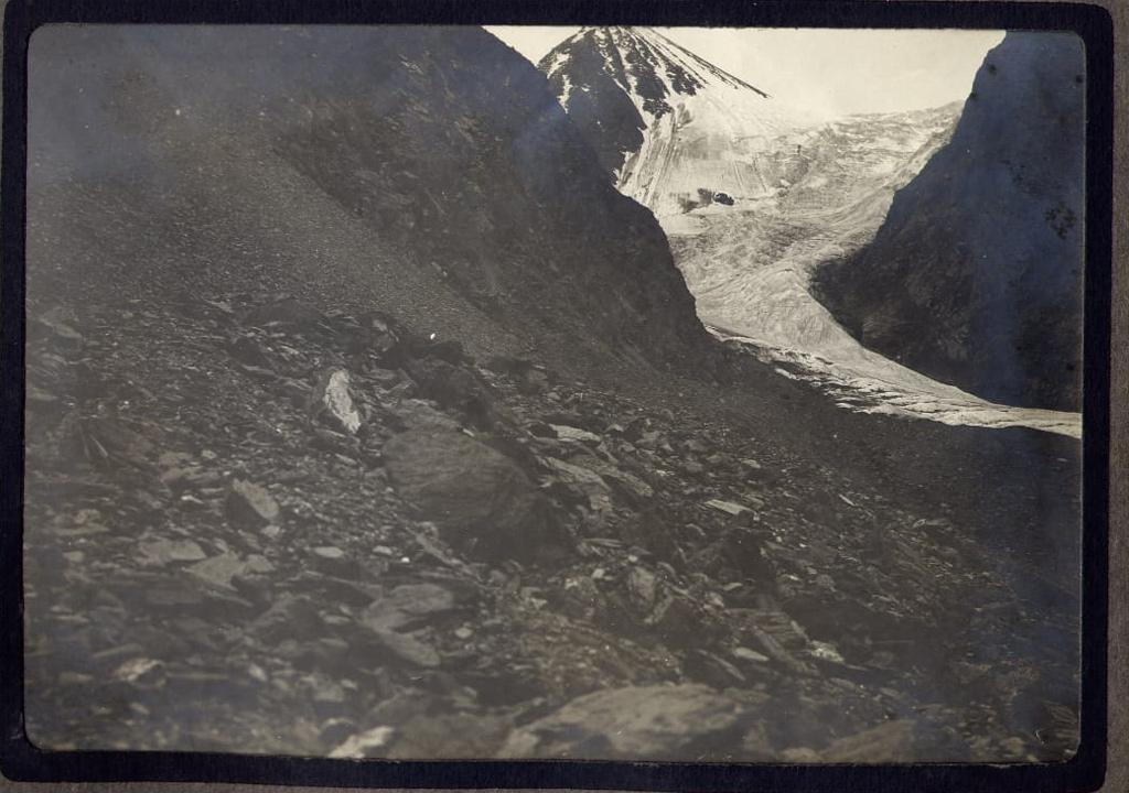 ледник большой актру архивное фото
