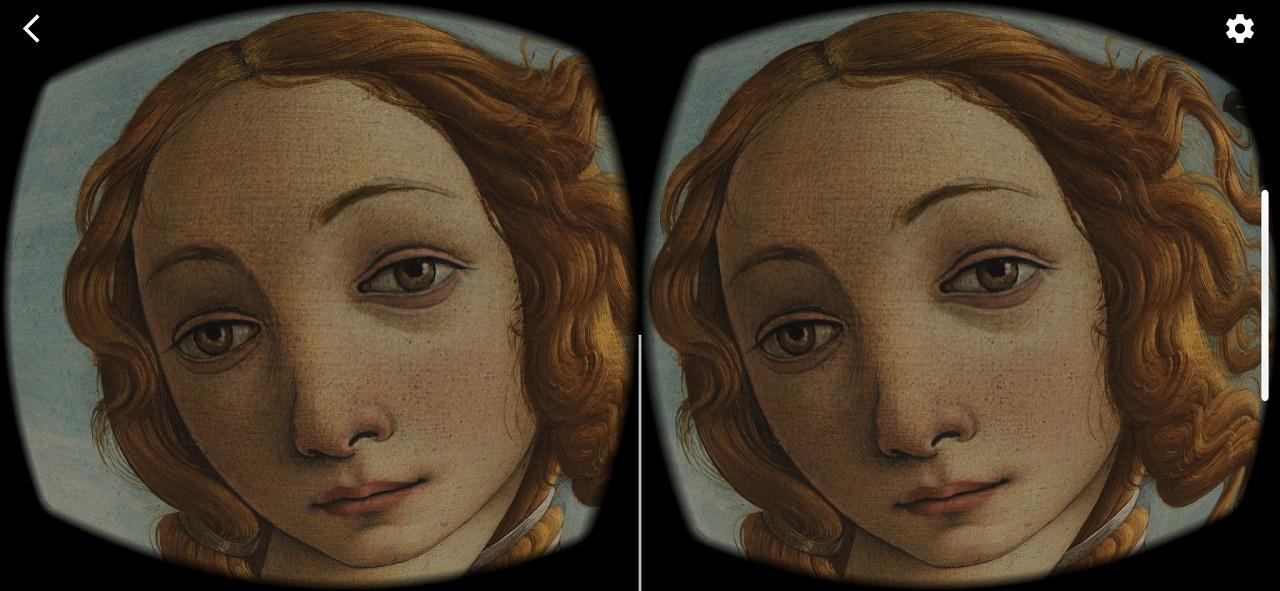 VR тур по уффици онлайн от Google Arts Culture