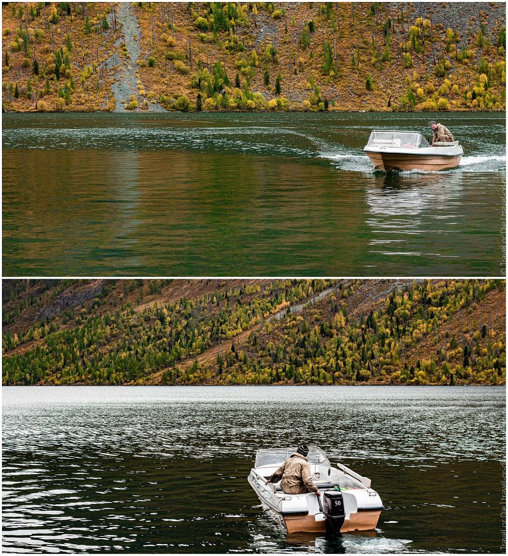 лодка на мультинских озерах