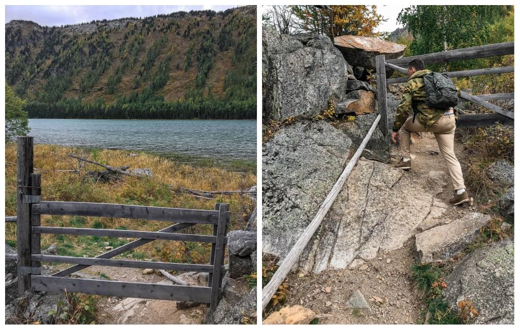ворота на среднее мультинское озеро