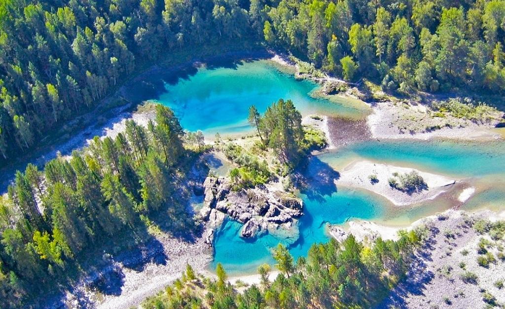 достопримечательности алтая Голубые озера у села Аскат