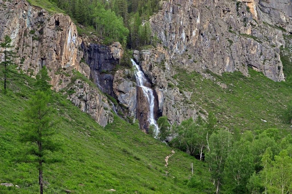 достопримечательности алтая Водопад Девичьи слезы