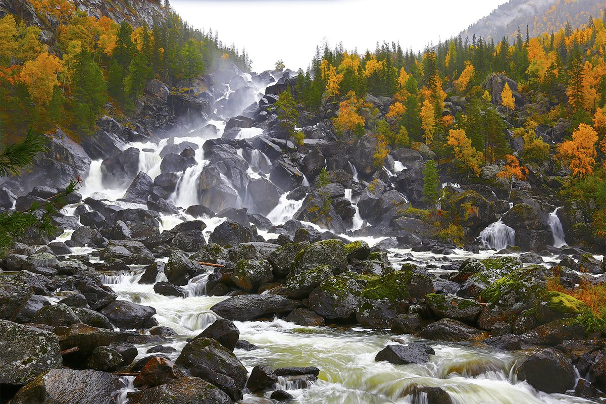 достопримечательности алтая Водопад Учар